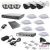 Комплект IP видеонаблюдения Tecsar IP 6OUT LUX MIX - Фото №6