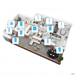Беспроводная сигнализация для дома 10 датчиков