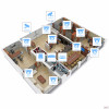 IP видеонаблюдение 12 камер (2Мп) для офиса - Фото №3