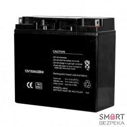 Аккумулятор свинцово-кислотный 12В 18 А*ч Страж