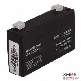 Аккумулятор LogicPower LPM 6V 13AH (LPM 6-1.3 AH) - Фото № 23