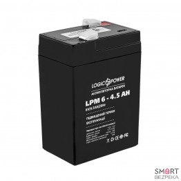 Аккумулятор LogicPower LPM 6V 45AH (LPM 6-4.5 AH)