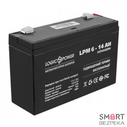 Аккумулятор LogicPower LP 6V 14AH (LP 6-14 AH) - Фото № 12