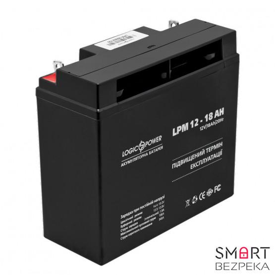 Аккумулятор LogicPower LPM 12V 18AH (LPM 12-18 AH)