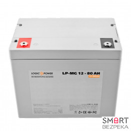 Аккумулятор LogicPower LPM-MG 12V 80AH (LPM-MG 12 - 80 AH) - Фото № 20