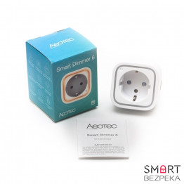 Умная розетка Z-Wave Aeotec Smart Dimmer 6 - Фото № 3
