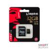 Карта памяти Kingston MicroSD 32GB Class 10 UHS-I + SD-adapter (SDCA10/32GB) - Фото №2