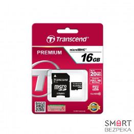 Карта памяти Transcend MicroSDHC UHS-I 16 GB Class 10 + SD-adapter (TS16GUSDU1) - Фото № 13