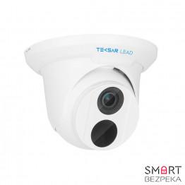 IP-видеокамера купольная Tecsar Lead IPD-L-4M30F-W-SF-poe-in 28 mm