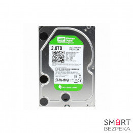Жесткий диск 3.5 Western Digital AV-GP 2TB 5400rpm 64МB WD20EZRX SATA II