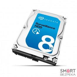Жесткий диск Seagate Surveillance HDD 8ТB 256MB ST8000VX0002 3.5 SATA III