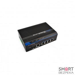 Уличный коммутатор POE FoxGate S6005S-I (4 PoE x 100 Мбит/с) - Фото № 6