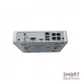 IP Сетевой видеорегистратор 4-канальный Hikvision DS-7104NI-E1/4P - Фото № 13