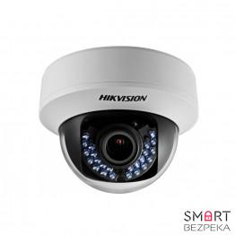 Купольная Turbo HD видеокамера Hikvision DS-2CE56D1T-VFIR (2.8-12)