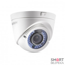 Купольная Turbo HD видеокамера Hikvision DS-2CE56D1T-VFIR3 (2.8-12) - Фото № 9