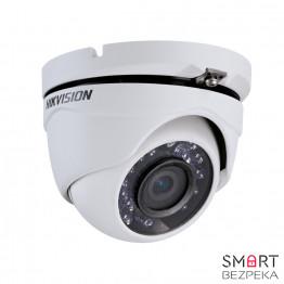 Купольная Turbo HD видеокамера Hikvision DS-2CE56D5T-IRM (2.8)