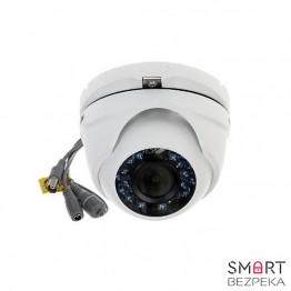 Купольная Turbo HD видеокамера Hikvision DS-2CE56D5T-IRM (2.8) - Фото № 16