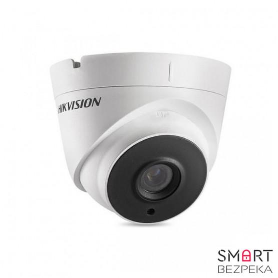 Купольная Turbo HD видеокамера Hikvision DS-2CE56F7T-IT3 (3.6)