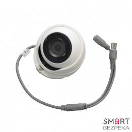 Купольная Turbo HD видеокамера Hikvision DS-2CE56F7T-ITM (2.8)