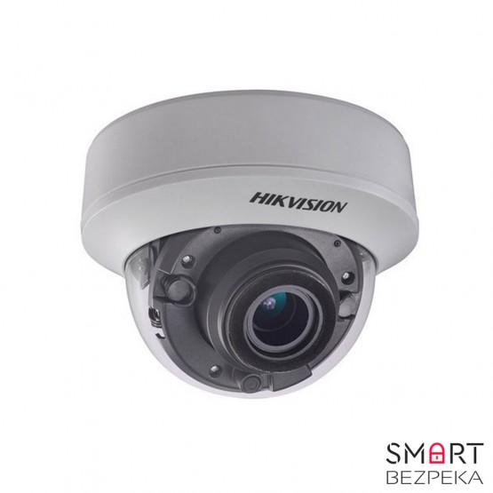 Купольная Turbo HD видеокамера Hikvision DS-2CE56F7T-ITZ (2.8-12)