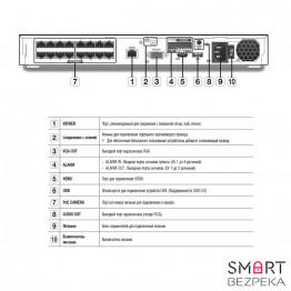 IP Сетевой видеорегистратор 16-канальный Samsung QRN-1610S - Фото № 22