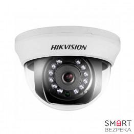 Купольная Turbo HD видеокамера Hikvision DS-2CE56D1T-IRMM (2.8)