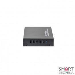 Медиаконвертер гигабитный HongRui HR900WS-8G2GE - Фото № 7