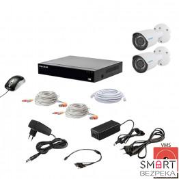Комплект видеонаблюдения Tecsar QHD 2MP2CAM