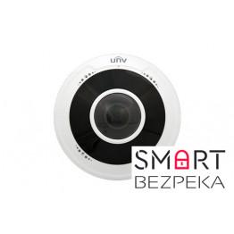 IP-видеокамера купольная Uniview IPC814SR-DVPF16 типа Fisheye