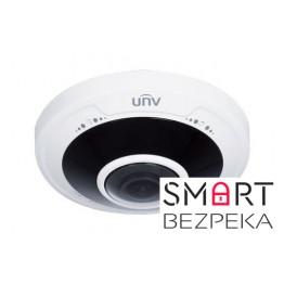 IP-видеокамера купольная Uniview IPC814SR-DVPF16 типа Fisheye - Фото № 5