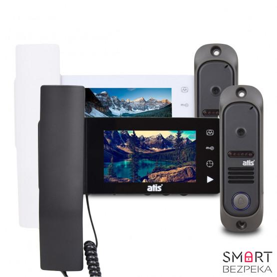 Комплект видеодомофона ATIS AD-440MW/MB Kit box