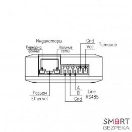 Преобразователь интерфейсов IRS Ethernet - RS485 V2 - Фото № 14